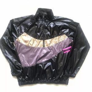 MaterialGirl Active Half Zip Windbreaker Jacket